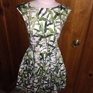 Closet floral portobello pleat dress us4/uk8
